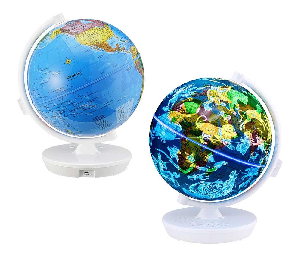 SG102RW Интерактивный глобус-ночник Звездное небо
