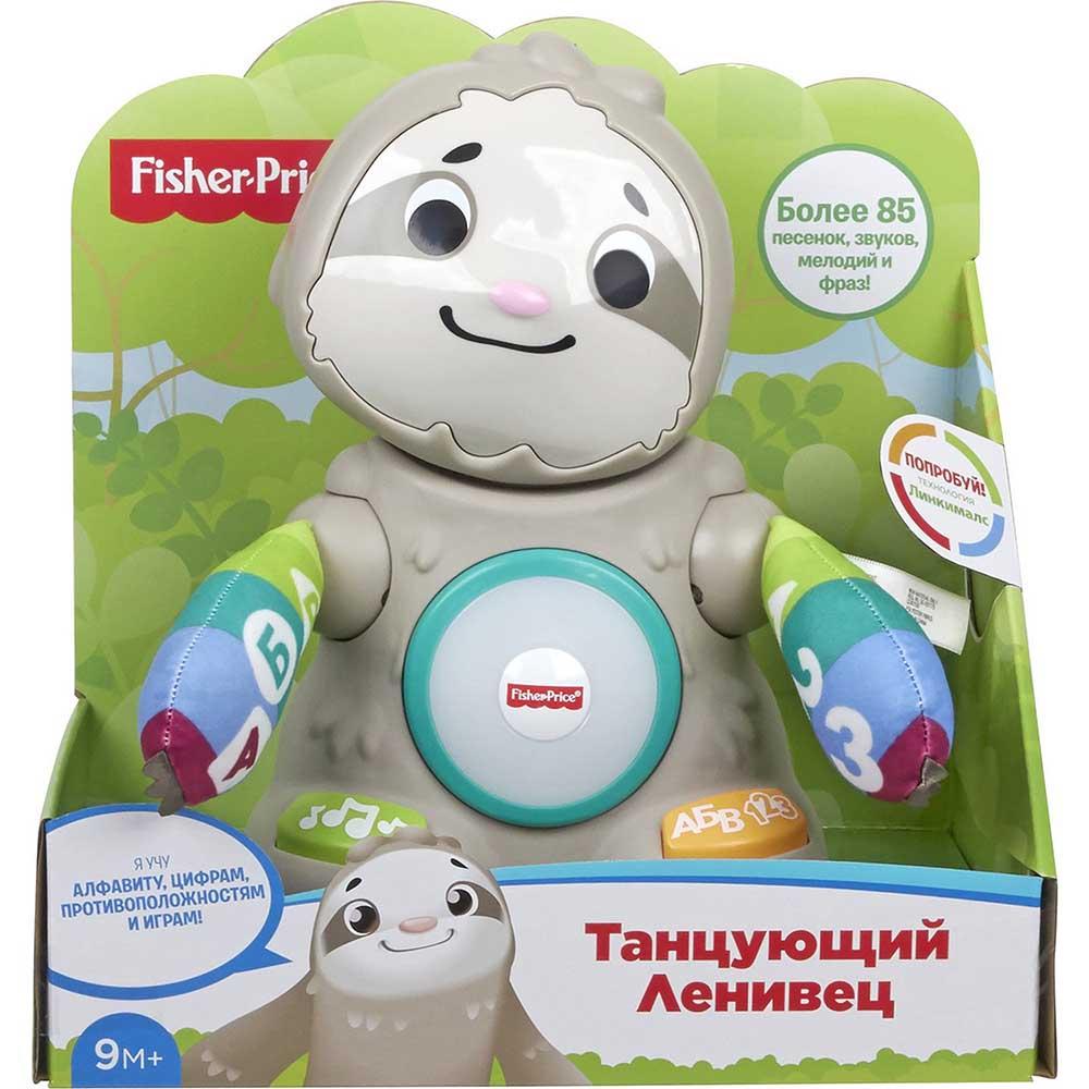 GHY96 Fisher-price Танцующий Ленивец музыкальная игрушка