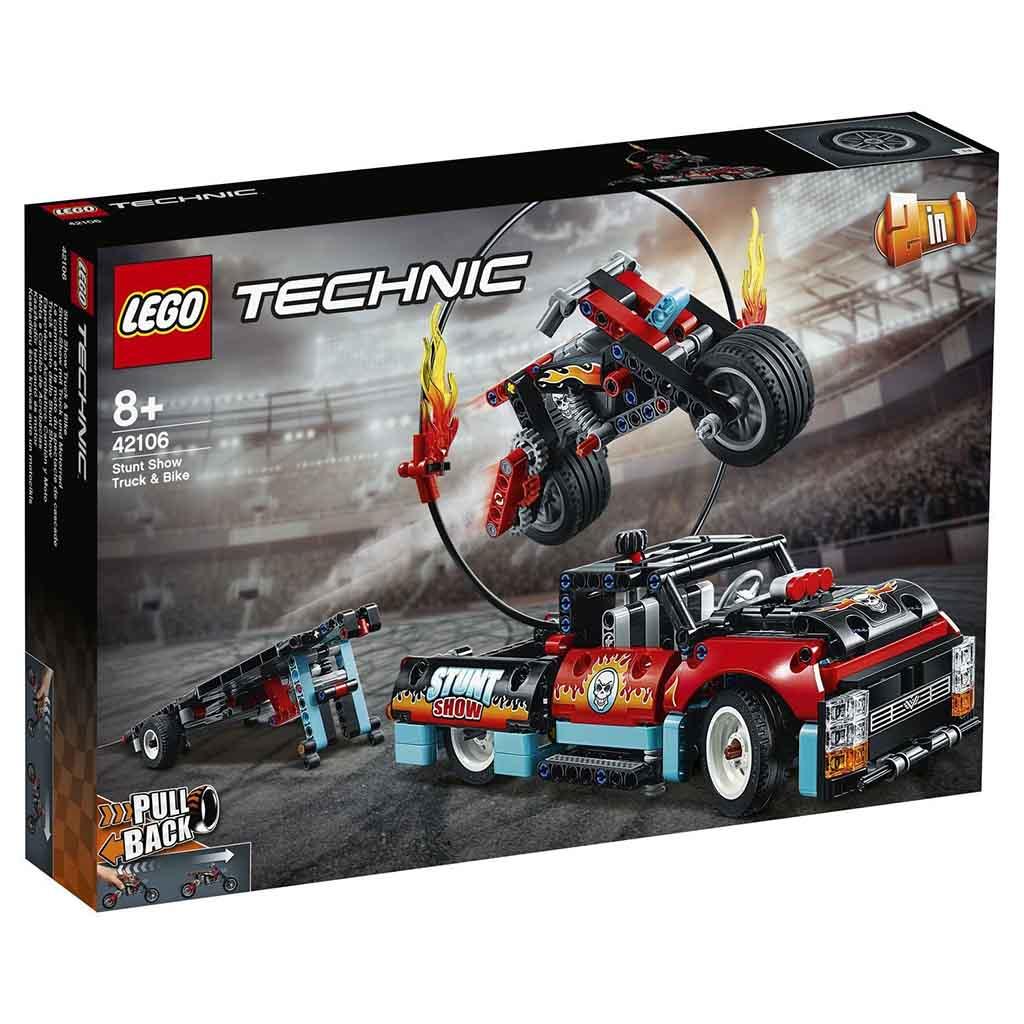 "42106 TECHNIC ""Шоу трюков на грузовиках и мотоциклах"""