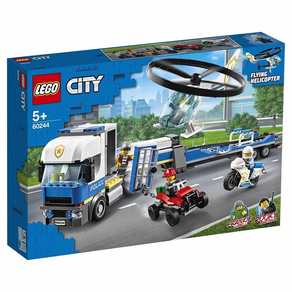 """60244 CITY """"Полицейский вертолётный транспорт"""""""