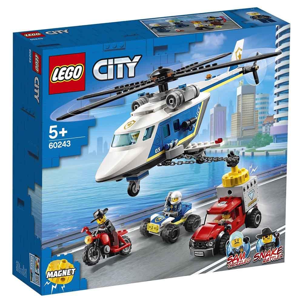 "60243 CITY ""Погоня на полицейском вертолёте"""
