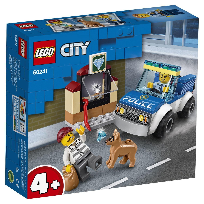 """60241 CITY """"Полицейский отряд с собакой"""""""