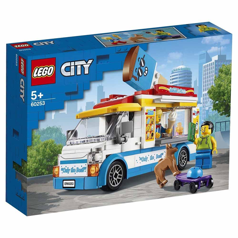 "60253 CITY ""Грузовик мороженщика"""