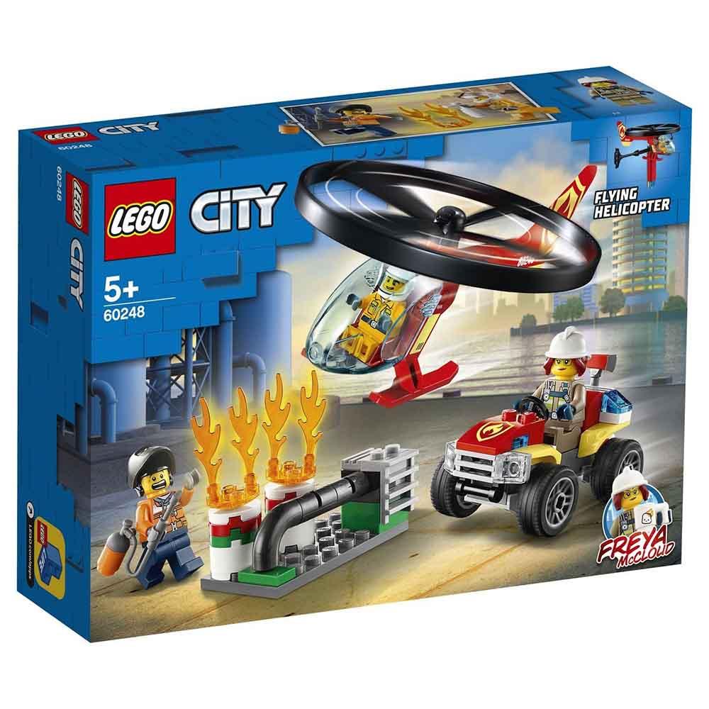 """60248 CITY """"Пожарный спасательный вертолёт"""""""