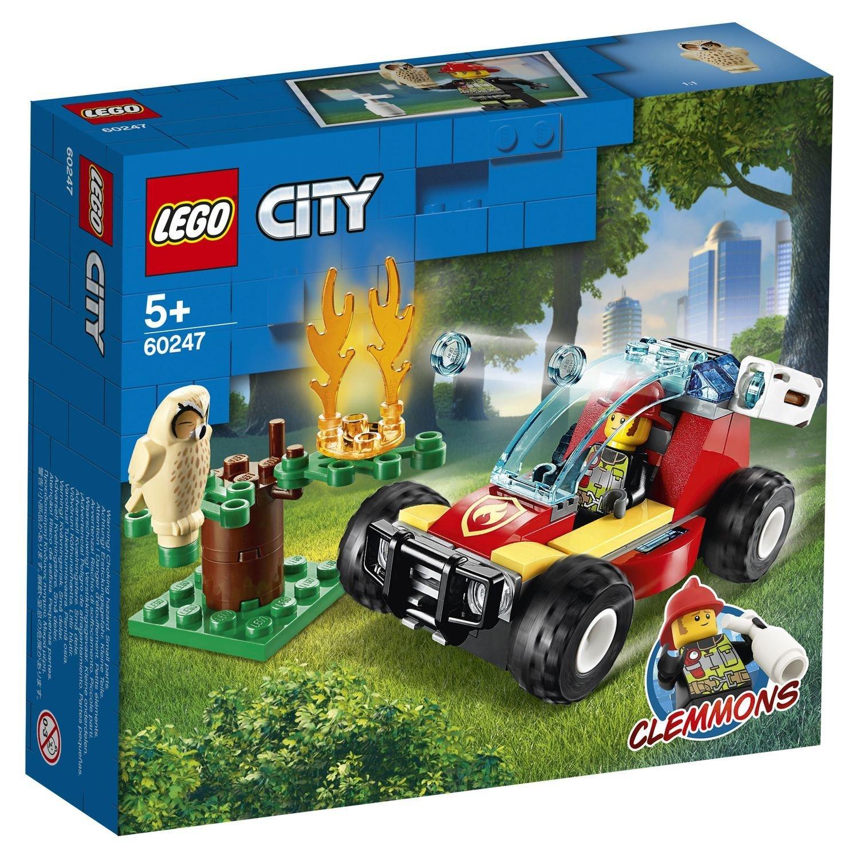 """60247 CITY """"Лесные пожарные"""""""