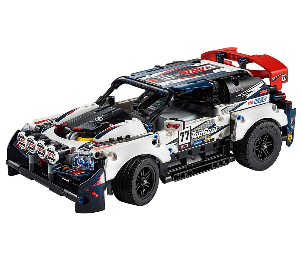 """42109 TECHNIC """"Гоночный автомобиль Top Gear на управлении"""""""
