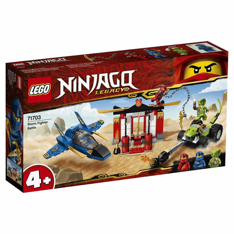 "71703 Ninjago ""Бой на штормовом истребителе"""