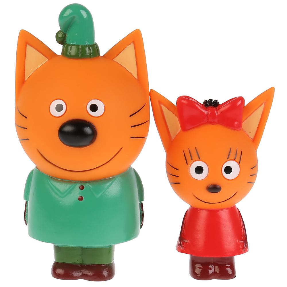 STFT1809-07BL-TC Набор из 2-х игрушек для ванны Капитошка Три Кота, Карамелька+Компот