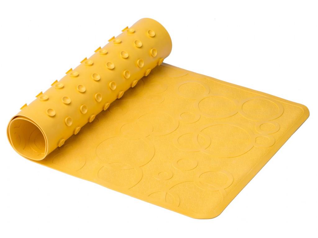 ВМ-M188-1Y Антискользящий резиновый коврик для ванны ROXY-KIDS 35х76см