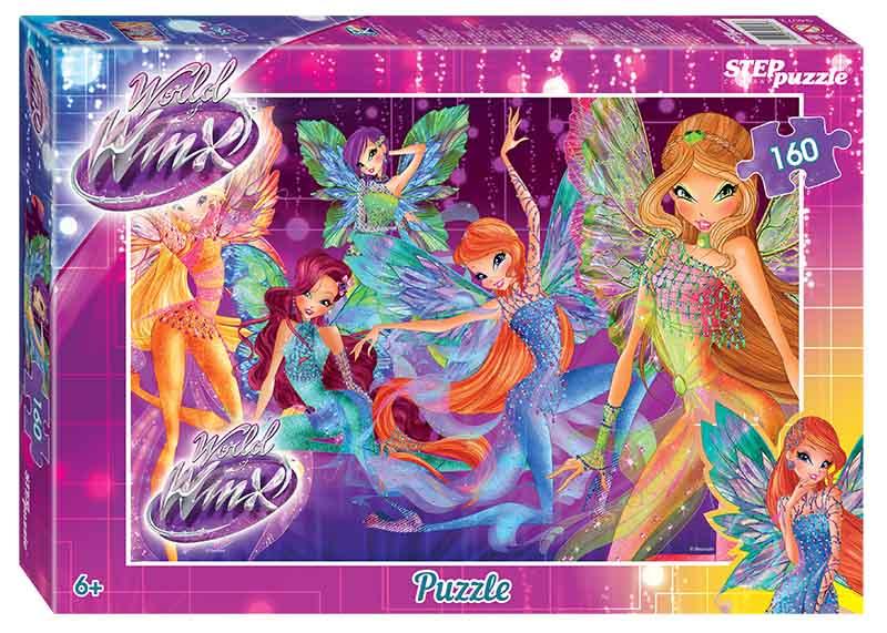 """94072 Мозаика """"puzzle"""" 160 """"Winx-2"""""""