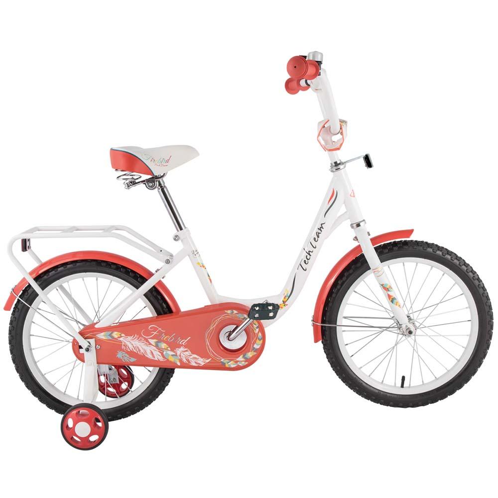 Велосипед Tech Team T 16131 бело-оранжевый