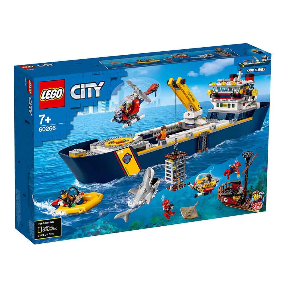 """60266 CITY """"Океан: исследовательское судно"""""""