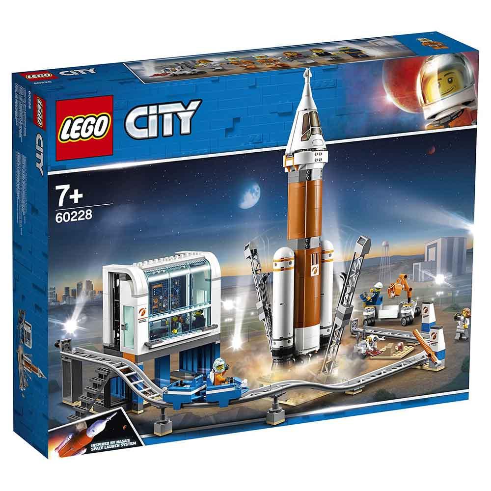 """60228 LEGO CITY """"Ракета для запуска в далекий космос и пульт управления запуском"""""""