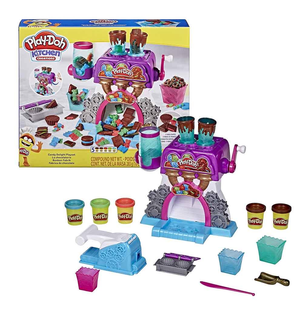 Игровой набор Play-Doh Конфетная фабрика E98445L0