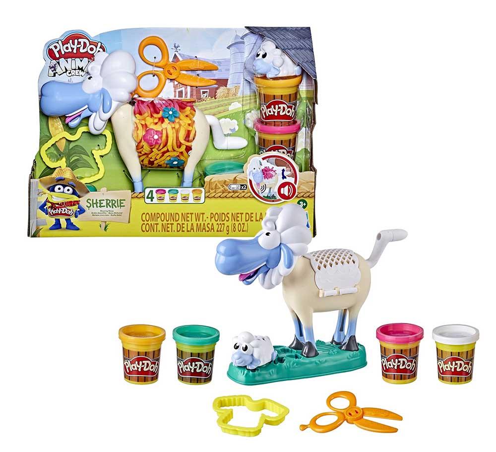 Игровой набор Play-Doh ANIMALS Овечка E77735L0