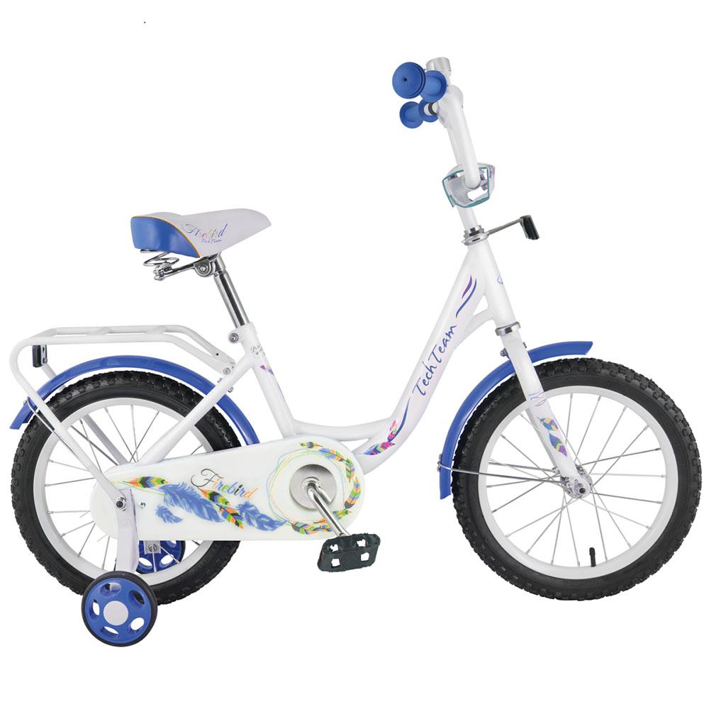 Велосипед Tech Team T 16131 бело-синий