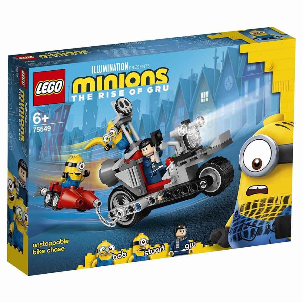 "Конструктор LEGO MINIONS ""Невероятная погоня на мотоцикле"" 75549"
