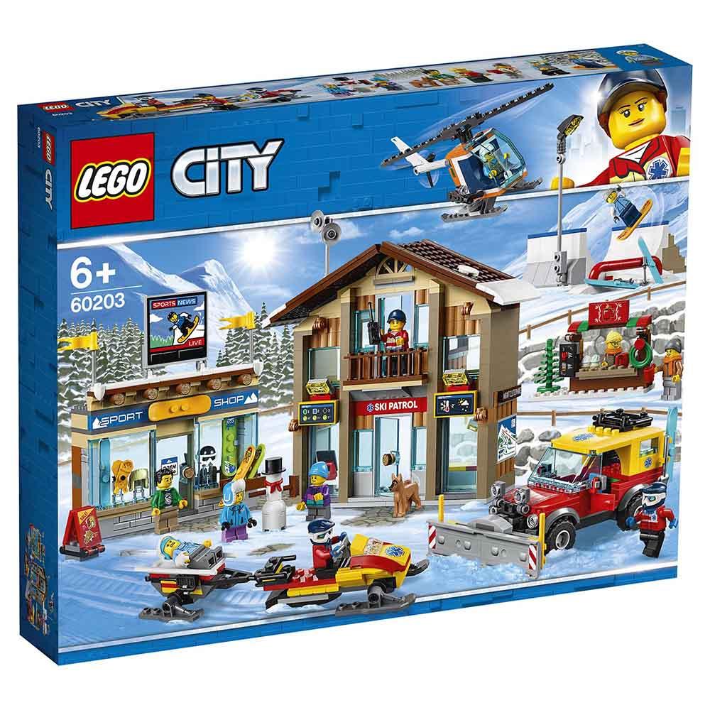 """Конструктор LEGO CITY """"Горнолыжный курорт"""" 60203"""
