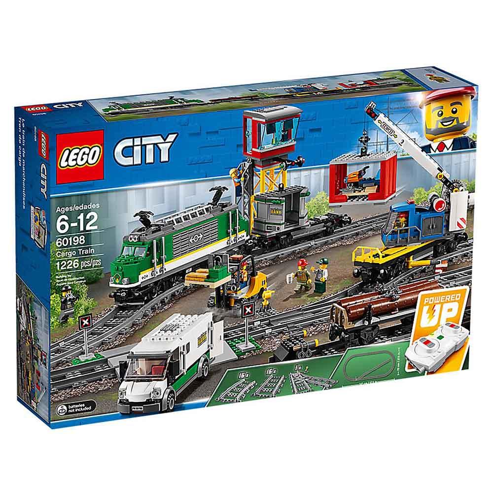 """Конструктор LEGO CITY """"Товарный поезд"""" 60198"""