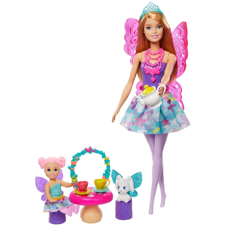 """Barbie® Игровой набор """"Заботливая принцесса"""" в ассорт. GJK49"""