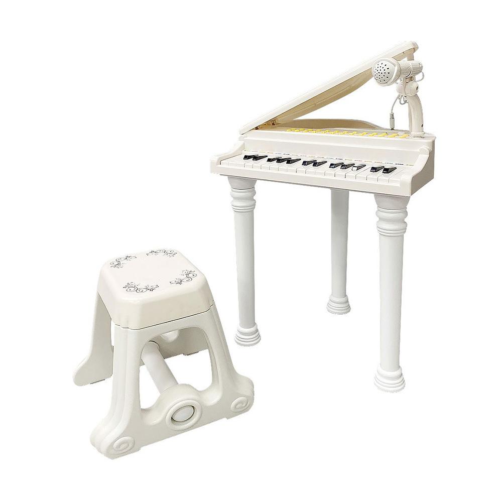 Музыкальный детский центр-пианино Everflo Maestro HS0330685 white (10702070/260218/0022969, Китай)