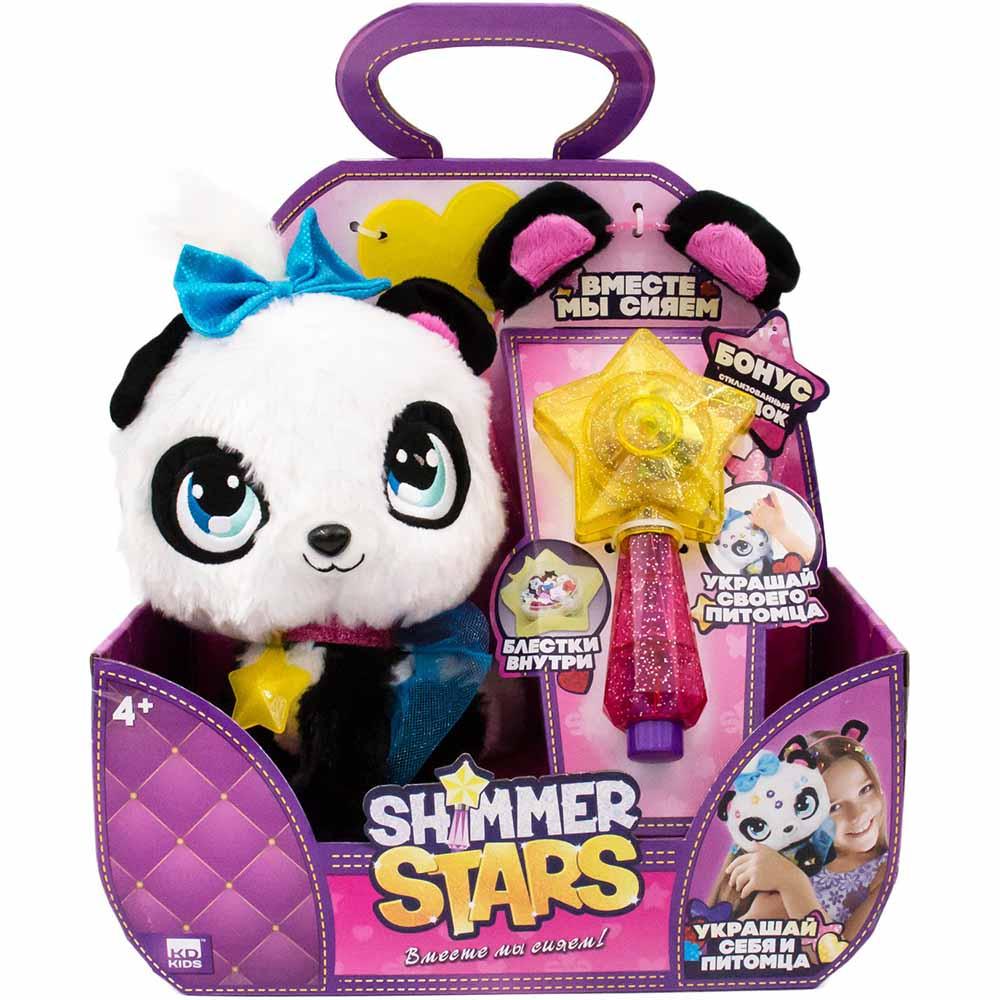 S19300 Плюшевая Панда Пикси 20см Shimmer Stars