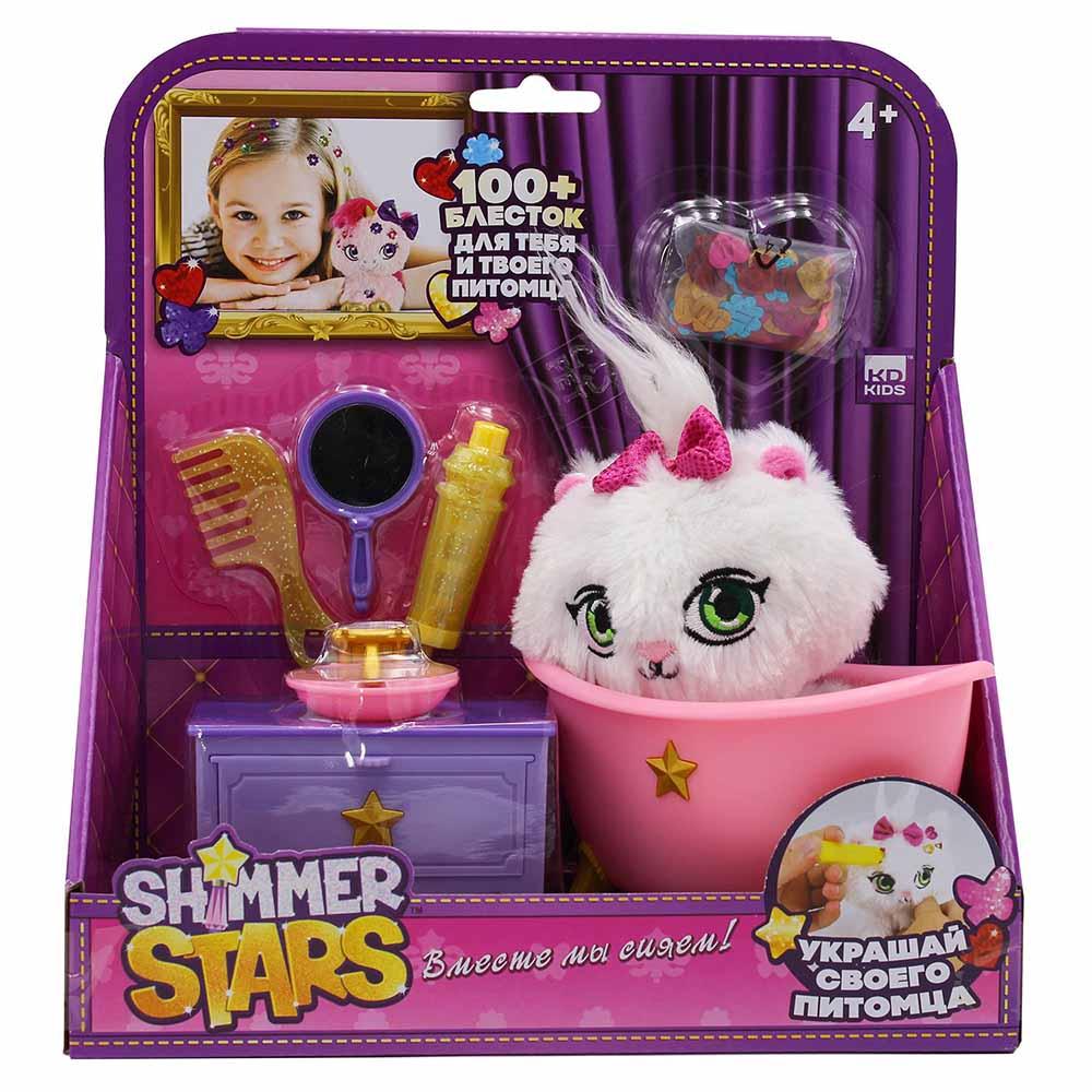 S19363 Набор с кошечкой SHIMMER STARS Ванная комната