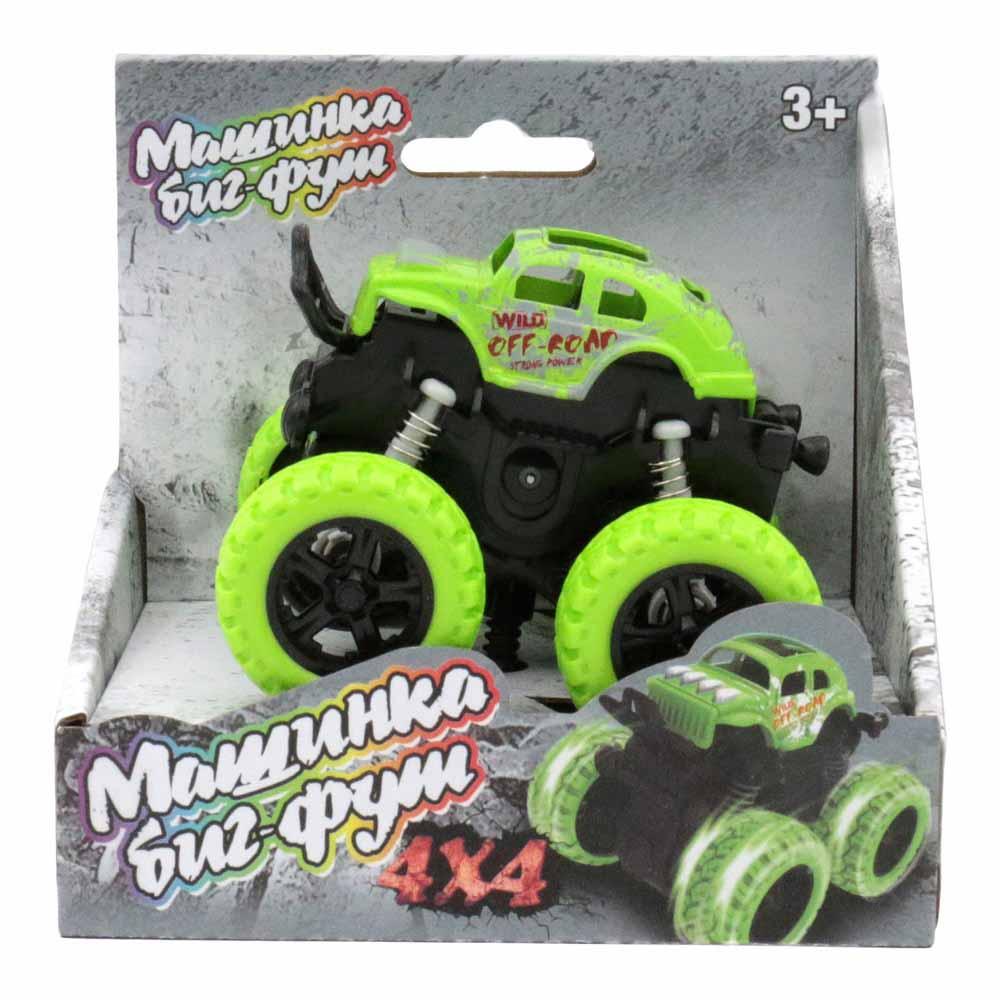 60003 Машинка 4*4 инерционная зелёная Funky toys