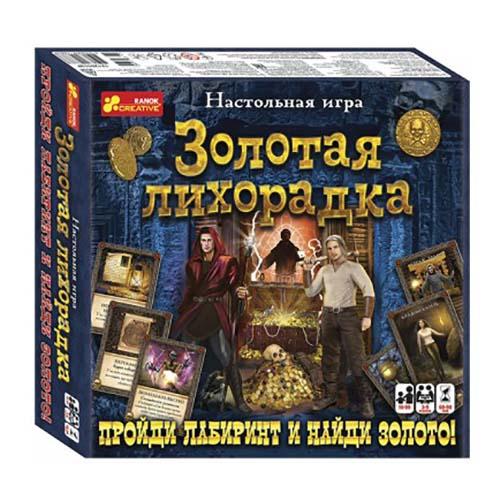 12120113Р Настольная игра - Золотая лихорадка