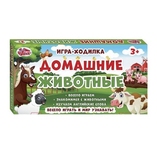12120107Р Настольная игра - Домашние животные