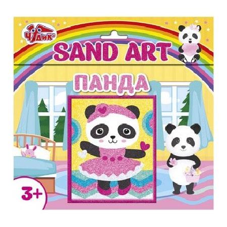 12100462Р Набор для творчества - Картинка из песка Панда