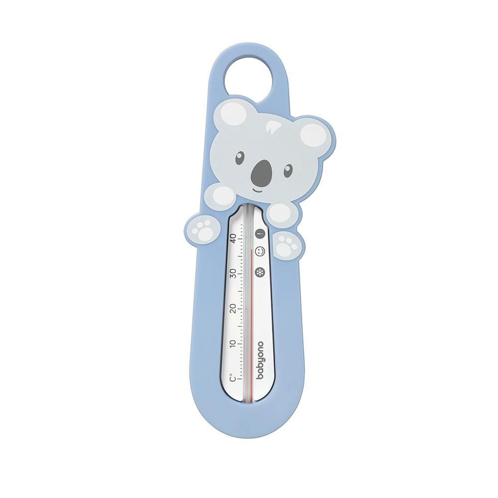 777/02 BabyOno Термометр для купания - Koala (синий)