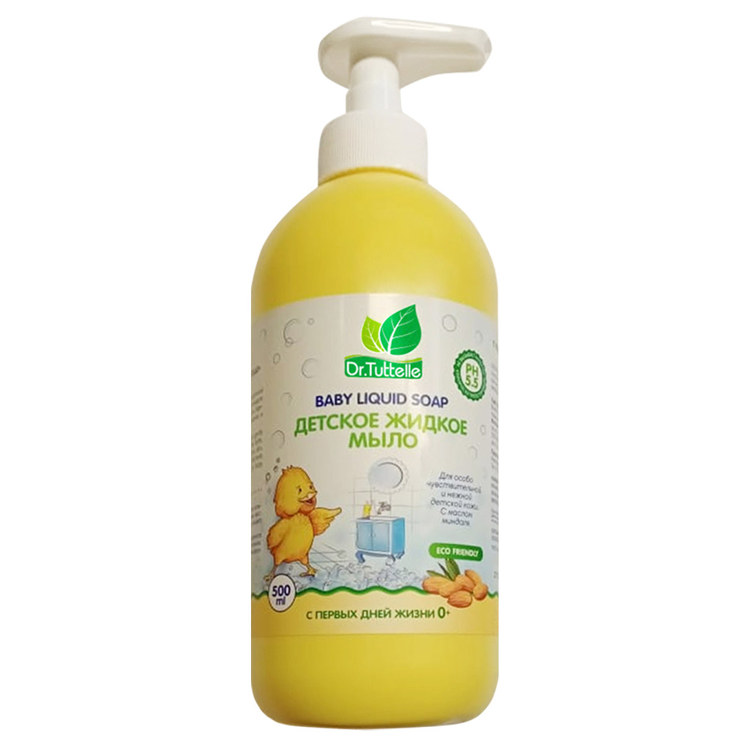 DT014 Dr.Tuttelle Детское жидкое мыло с миндалем, 500мл