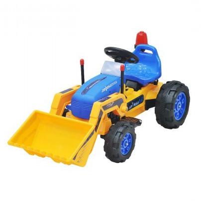 Аккумулятрная детская машина Everflo Yellow Minitractor ЕА002