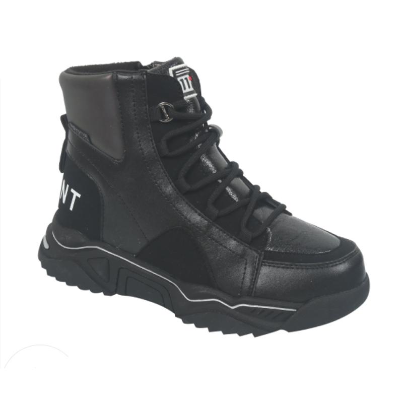 B-7717-A  Ботинки 34-39 р Чёрный