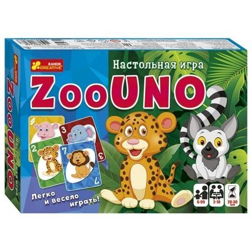 12120132Р Настольная игра - Зооуно