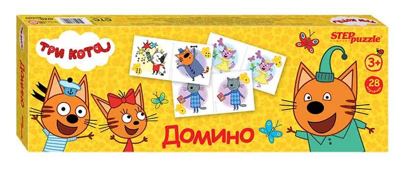 """80122 Домино """"Три кота"""" (АО """"СТС"""")"""