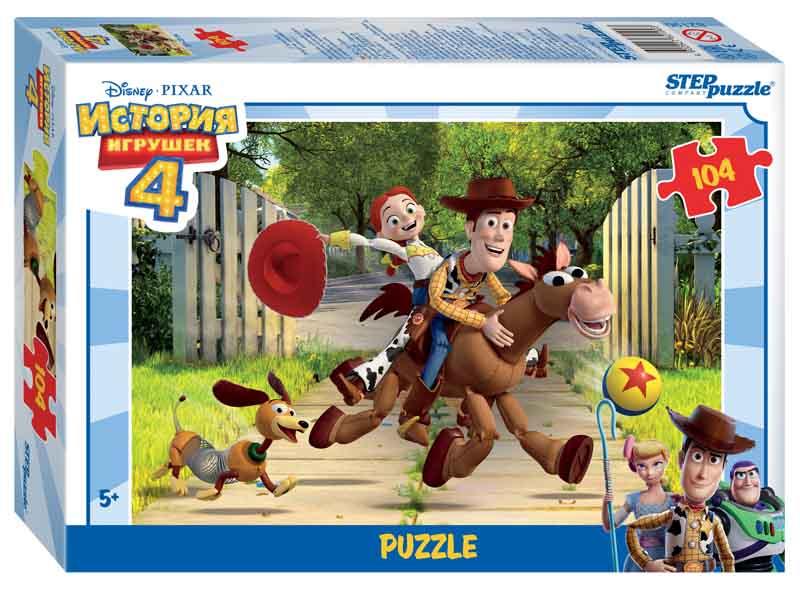 """82190 Мозаика """"puzzle"""" 104 """"История игрушек - 4"""" (Disney/Pixar)"""