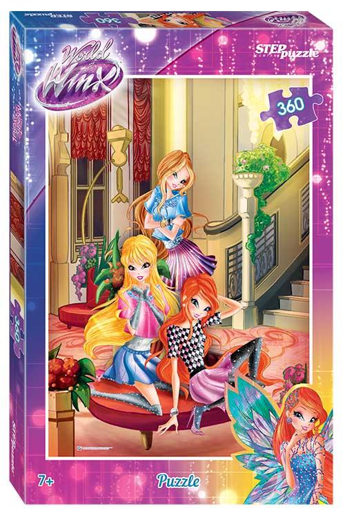 """96059 Мозаика """"puzzle"""" 360 """"Winx  - 2"""" (Rainbow)"""