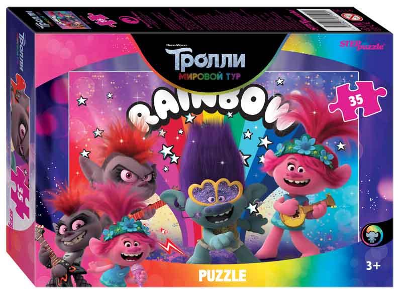 "91190 Мозаика ""puzzle"" 35 ""Trolls - 2"" (DreamWorks)"