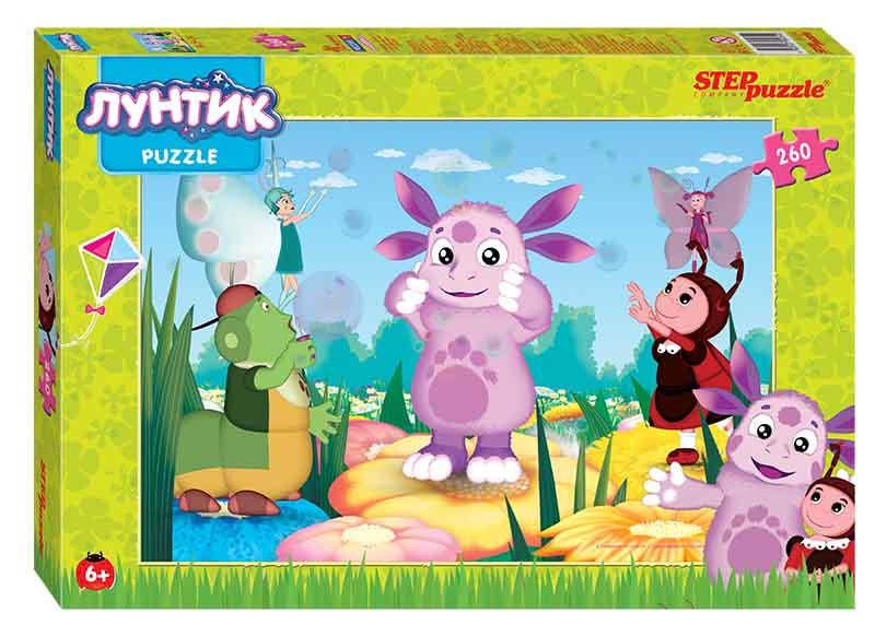 "95054 Мозаика ""puzzle"" 260 ""Лунтик"" (Мельница)"