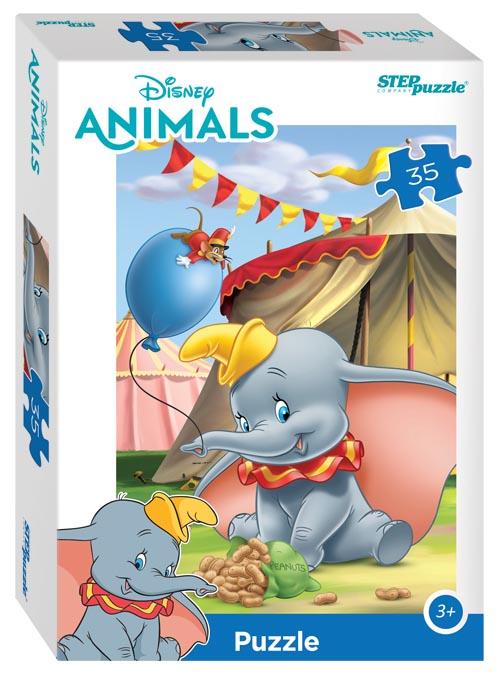 """91404 Мозаика """"puzzle"""" 35 """"Зверята Дисней"""" (Disney)"""