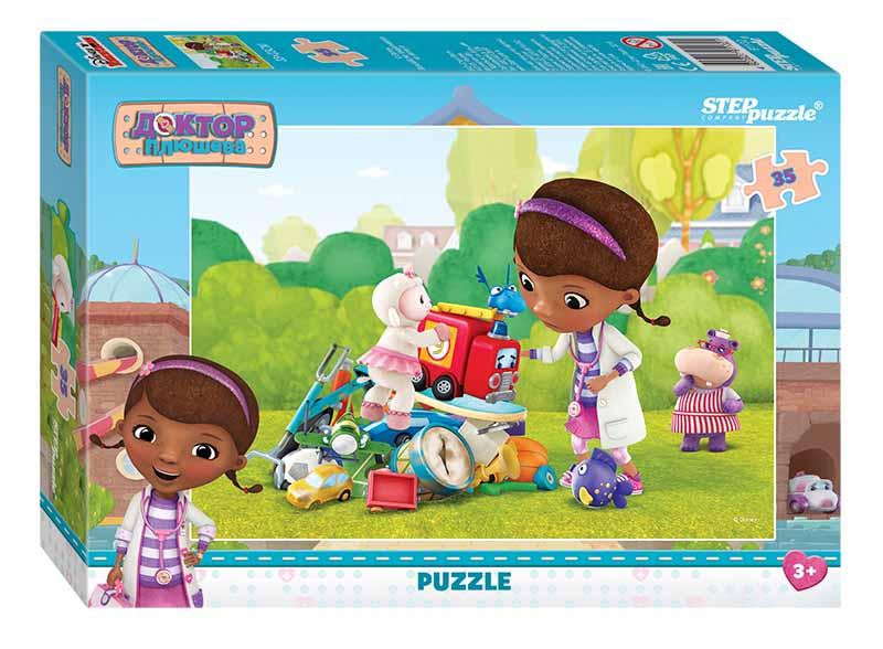 """91132 Мозаика """"puzzle"""" 35 """"Доктор Плюшева"""" (Disney)"""