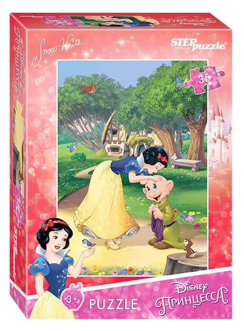 """91156 Мозаика """"puzzle"""" 35 """"Белоснежка - 2"""" (Disney)"""