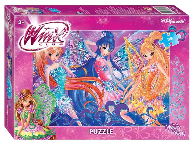"""91157 Мозаика """"puzzle"""" 35 """"Winx - 2"""" (Rainbow)"""