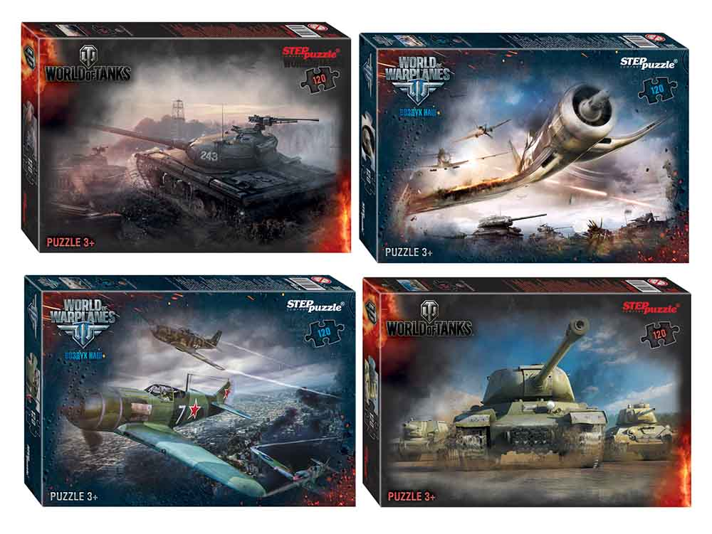 "75165 Мозаика ""puzzle"" 120 ""World of Tanks"" (Wargaming)"