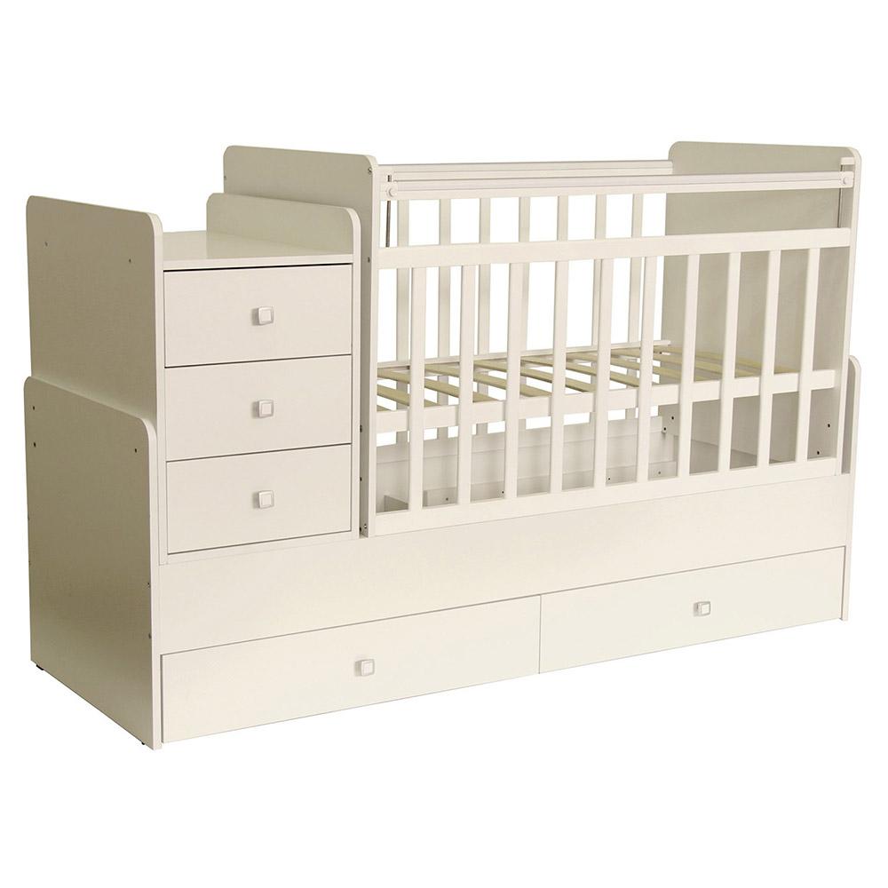 Кровать детская Фея 1100 слоновая кость 1033.11