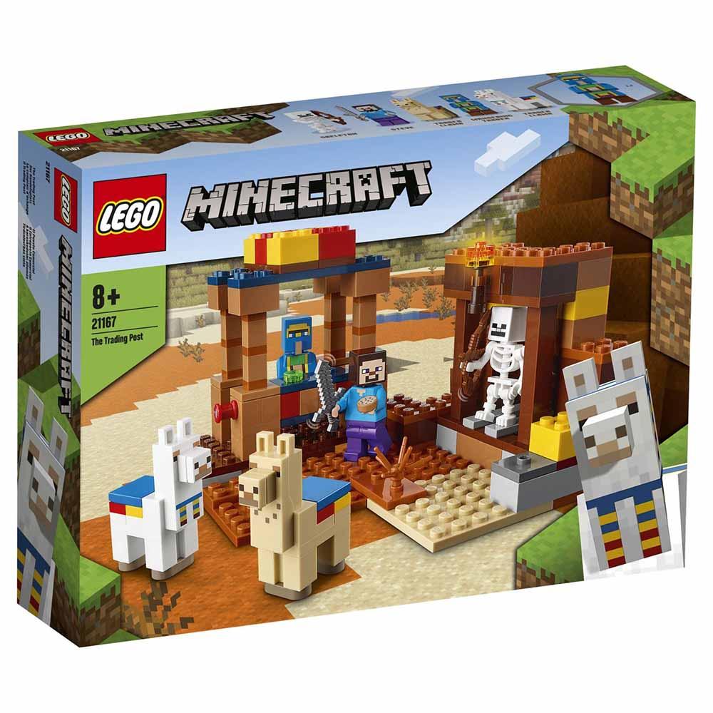 """21167 Minecraft """"Торговый пост"""""""