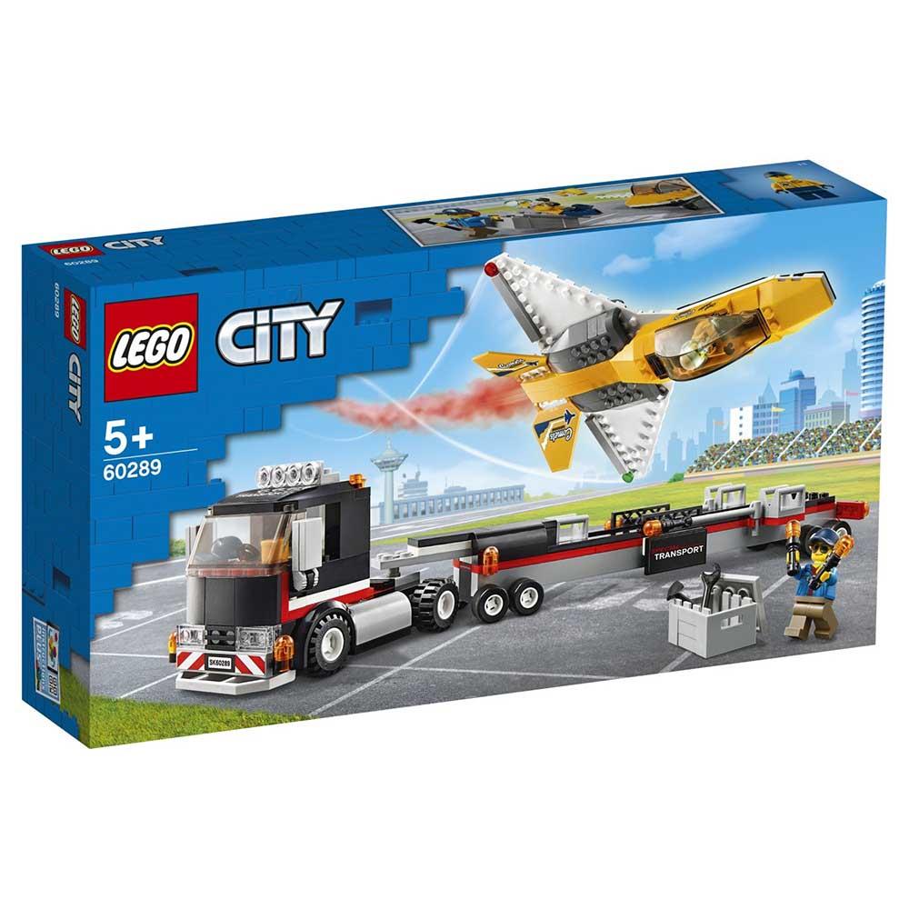 "60289 CITY ""Транспортировка самолёта на авиашоу"""
