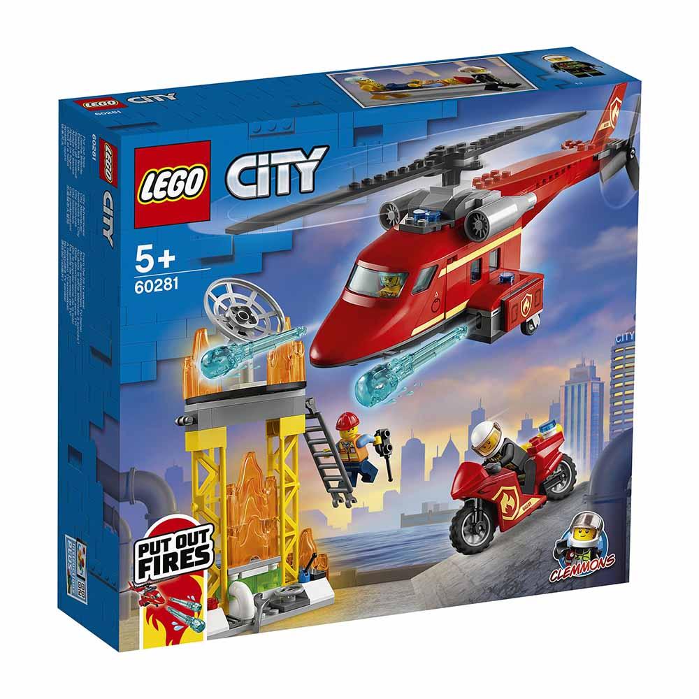 """60281 CITY """"Спасательный пожарный вертолет"""""""